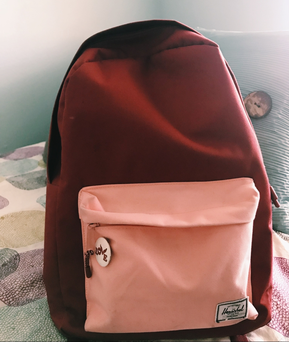 My Travel Backpack for 2018